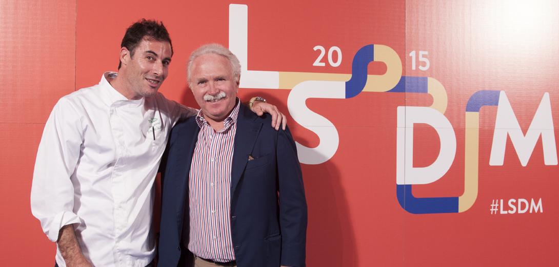 Ernesto Iaccarino con Guido Barendson a #lsdm 2015