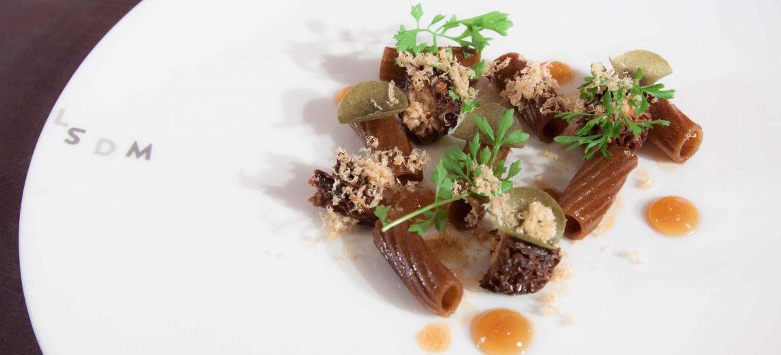 Il terzo piatto di Luciano Monosilio per LSDM10. Foto di Francesca Massa.