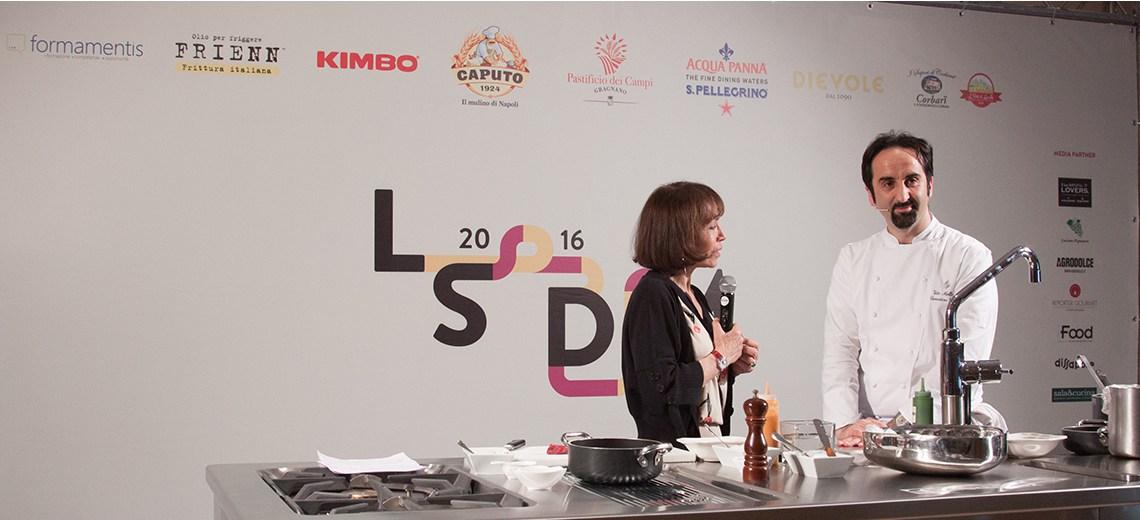 Vito Mollica con Fiammetta Fadda LSDM Paestum 2016